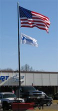 Commercial Grade Flag Pole