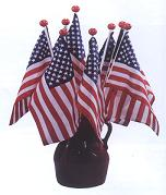 Saf-T-Ball American Stick Flags