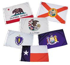 Marine Grade State flags