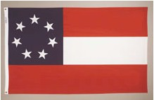 STARS AND BARS NYLON FLAG