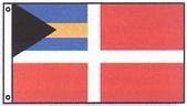 """12"""" X 18"""" Marine Grade Bahamas Flag (Courtesy) - Product Image"""