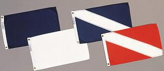 "12"" X 18"" Owner Absent Flag - Product Image"