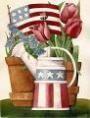 Watering Can Garden Banner Free Shipping - Product Image