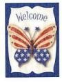Butterfly Garden Banner Free Shipping - Product Image