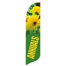 Marvelous 2 X 12 Ft. Annuals Blade Flag