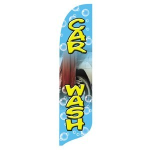 2 x 12 ft. Car Wash Blade Flag - Product Image