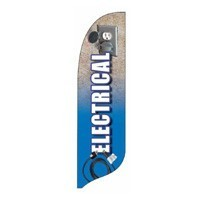 2 x 12 ft. Electrical Blade Flag