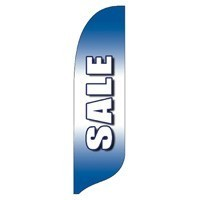 2 x 12 ft. Sale Blade Flag - Product Image
