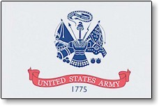 2' X 3' United States Army Flag - Nylon - Product Image