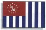 2.5' X 4' Marine Grade U.S. Power Squadron Flag - Product Image