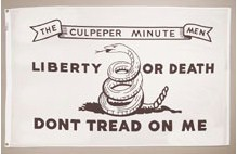 3' X 5' Culpeper Minute Men Flag - Nylon - Product Image