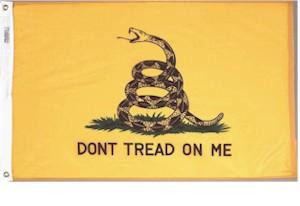 3' X 5' Gadsden Flag - Nylon - Product Image