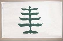 3' X 5' Pine Tree Flag - Nylon - Product Image