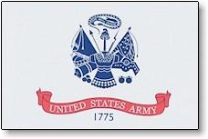 3' X 5' Indoor United States Army Flag - Nylon - Product Image