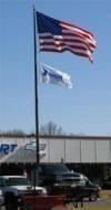 20 ft. Commercial Grade Aluminum Flag Pole - Product Image