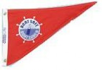 "10"" X 15"" Boat Safe Pennant - Product Image"