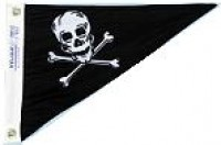 "10"" X 15"" Pirate Pennant - Product Image"
