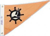 "10"" X 15"" Sailboat Pennant - Product Image"