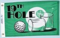 "12"" X 18"" 19th Hole Flag - Product Image"