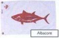 """12"""" X 18"""" Albacore Flag - Product Image"""