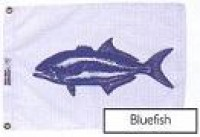 "12"" X 18"" Bluefish Flag - Product Image"