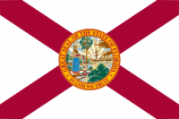 12' X 18' Florida Flag - Nylon - Product Image