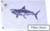 "12"" X 18"" Mako Shark Flag - Product Image"