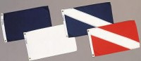 "12"" X 18"" Skin Diver Flag - Product Image"