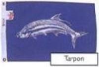"12"" X 18"" Tarpon Flag - Product Image"