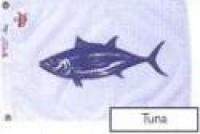 "12"" X 18"" Tuna Flag - Product Image"