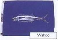 "12"" X 18"" Wahoo Flag - Product Image"