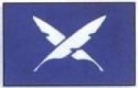 """12"""" X 18"""" Yacht Club Secretary Flag - Dyed Design - Product Image"""