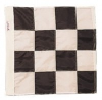 24 x 24 Inch Checkered Flag - Product Image