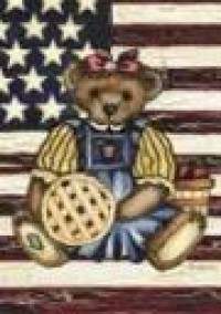 Teddy Bear Garden Banner Free Shipping - Product Image