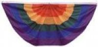 Pleated Rainbow Fan - Product Image
