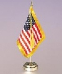 Envoy American Flag Desk Set - Product Image