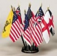 Flags of Our Country American Flag Desk Set - Product Image
