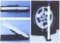 Wheel Base for Portable Telescopic Flagpoles - Product Image