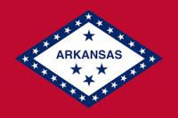 2' X 3' Arkansas Flag - Nylon - Product Image