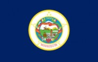 2' X 3' State of Minnesota Flag - Nylon - Product Image