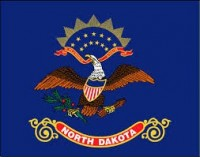 2' X 3' State of North Dakota Flag - Nylon - Product Image
