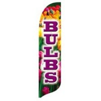 2 x 12 ft. Bulbs Blade Flag - Product Image