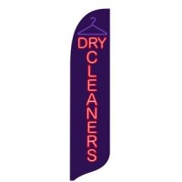 2 x 12 ft. Dry Cleaners Blade Flag