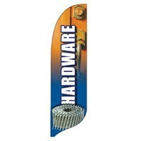 2 x 12 ft. Hardware Blade Flag - Product Image