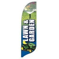 2 x 12 ft. Lawn & Garden Blade Flag - Product Image