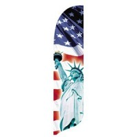 2 x 12 ft. Liberty Blade Flag - Product Image