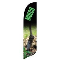 2 x 12 ft. Mulch Blade Flag - Product Image