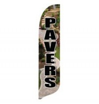 2 x 12 ft. Pavers Blade Flag - Product Image