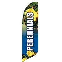 2 x 12 ft. Perennials Blade Flag - Product Image