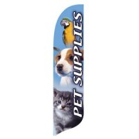 2 x 12 ft. Pet Supplies Blade Flag